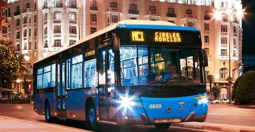 bus à madrid