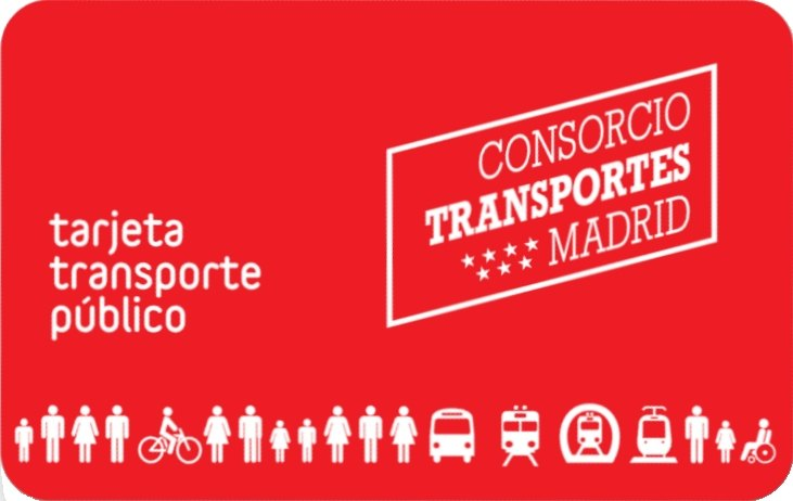 carte de transport de madrid